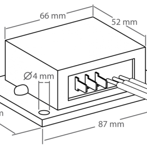 PWM Fan Control Dimensions