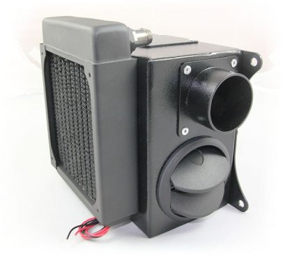 Heater front / side view